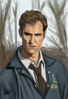 Detective Rust Cohle by BudapestA