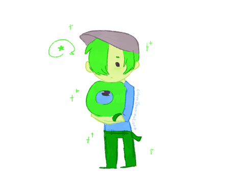 SamsSepticEye doodle by ChloesImagination