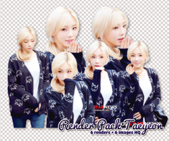 PACK PNG TAEYEON @150904 MUSIC BANK by victorhwang