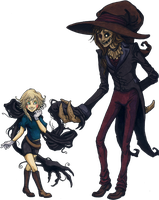 A doll and a scarecrow C8 by VinnyCrow