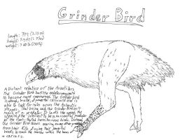 The Grinder Bird by Whachamacallit1