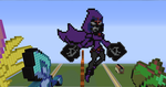 Raven Pixel Art by eewq