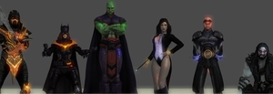Injustice : Gods Among Us DLC Signature by Kaiology