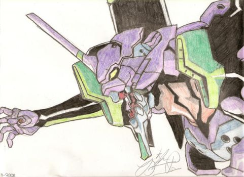 Eva Unit 001 by LeiFox