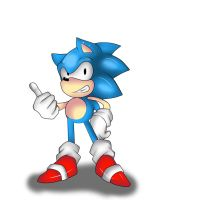 classic sonic by Ashura6000