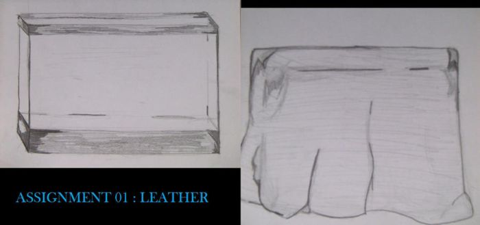 Clothing Assignment 02: Leather by BlueRaven022