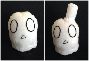 Napstablook Plush by TheSweetDisease