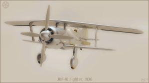 Joint Defence Fighter 1936 by donaguirre