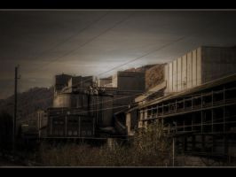 cement factory II by NiloDirf