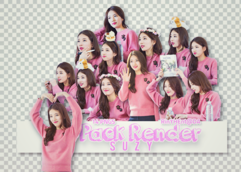 [PACK RENDER #25] 14 PNG SUZY - MISSA by RinYHEnt