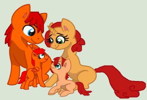 GoldenKey Family by Crazy-Summer-Magic