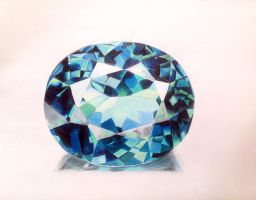 Blue Topaz by UnmaskArt