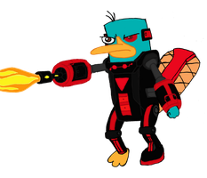 Perry the Platypus (Mysterious Dimension) clipart by RedJoey1992