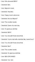 BEN's on Cleverbot by ShadowJeice