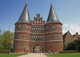 Holstentor by baronjungern