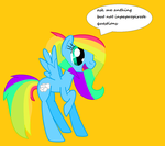 ask me rainbowshy by coolmlpfangirl450