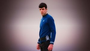 Zachary Quinto Spock II by Dave-Daring