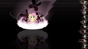 Fluttershy Wallpaper 1920x1080 by forgotten5p1rit