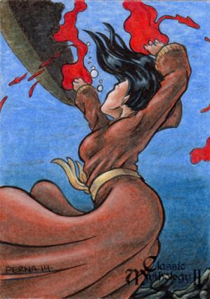 Sedna Sketch Card - Classic Mythology II