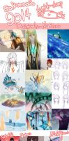 2014 Artdump: DmmD, NuError, Misc Fanarts and more by sakonma