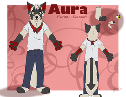 Aura Fursuit Ref by DogRunner
