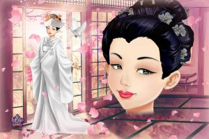Japanese Bride from Wedding Lily by LadyAquanine73551