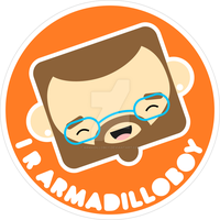 sticker set - me by armadilloboy