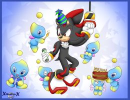 Happy Birthday Shadow The Hedgehog by xShadilverx