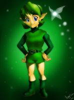 Saria - The Sage of Forest by Meya-san