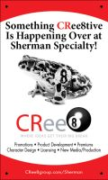 Sherman and CRee8 Group join forces AD by FrozenPinky