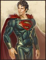 Man of Steel Be Still! by Markovah