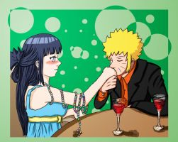 NaruHina Date by LadyCyco