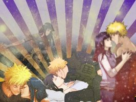 naruto and hinata-wallpaper by shmatity