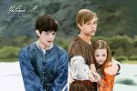 Edmund, Peter and Lucy by Felicence