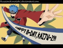 Happy B-day, Kaiju-Z by RussianKunoichi