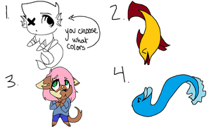 Adoptables [OPEN] by Onedirectioner1236