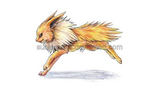 Jolteon by SunlessRise