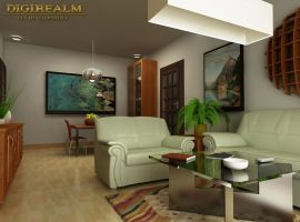 Living Room by Digirealm