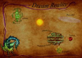 dream reality world map by dakuness