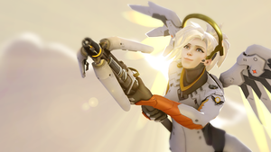 Twitch Stream SFM - Mercy by Rockon12709