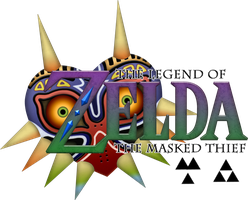 The Legend of Zelda: The Masked Thief [Title] by BLUEamnesiac