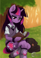 Reading can be Magical too... by XxMoonDropsxX