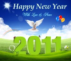 welcome 2011 by free4u