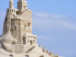 Sand Castle by MellaAnn