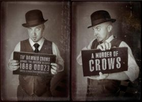 Th' Damned Crows Mugshots - Ronnie by Dr-Benway