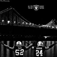 Oakland Raiders: All For the Bay by PF730