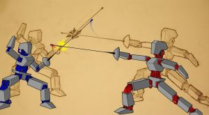Fencing Robots by eponymoose725
