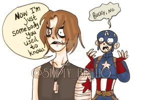 +For Pete's Sake, Bucky+ by MissBrillig