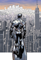 Silver surfer by Franck25