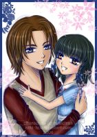12 - Tamiko and Dad by Niki-Te
